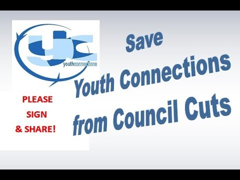 Save Youth Connections from Council Cuts