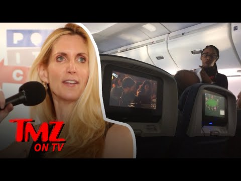 Chris Evans Snaps Back At Ann Coulter!  TMZ TV