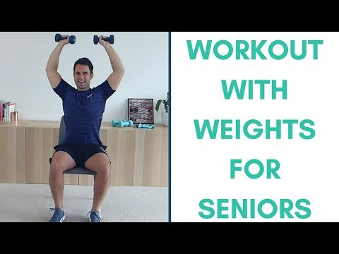 Strength Workout For Seniors An Introduction To Weights For Seniors (10 Minutes)]