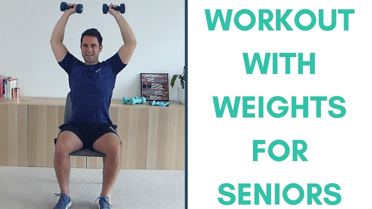 Introduction To Weights For Seniors Strength Workout For Seniors More Life Health Youtube