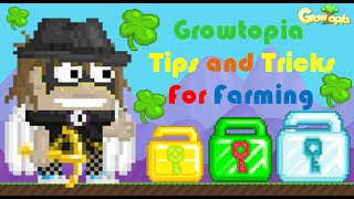 GrowTopia | Useful Tips And Tricks For Farming!