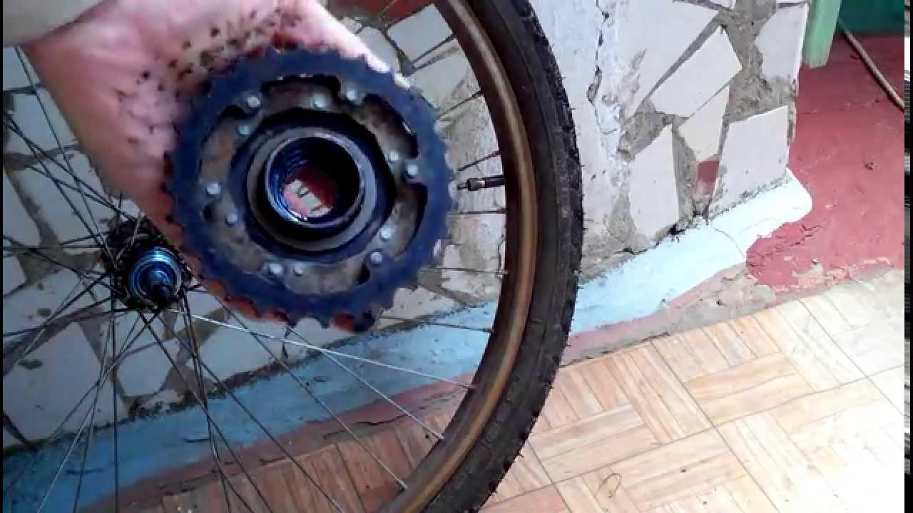 Как снять педаль и вынуть каретку из велосипеда.ВеЛЛо_часть .