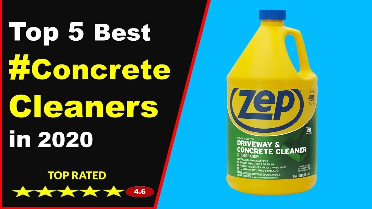 Best Concrete Driveway Cleaners For