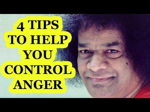Anger Management tips from Sri Sathya Sai Baba