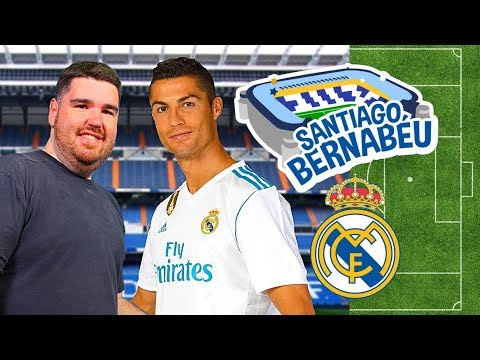 ⚽Real Madrid | Santiago Bernabéu Stadium Tour ⚽