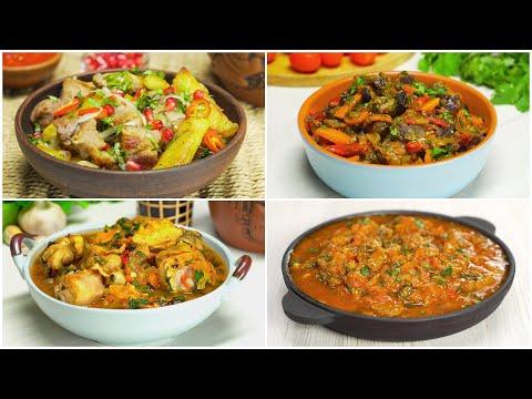 Приготовьте шедевр! Знаменитые грузинские блюда на праздничный стол. 4 рецепта от Всегда Вкусно!
