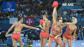2017 Rhythmic Worlds, Pesaro (ITA) - Group Apparatus Final, 3 Balls+2Ropes, Highlights
