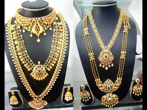 Latest One Gram Gold Jewellery Collection With Reasonable Price | @Siri Fashions #KPHB