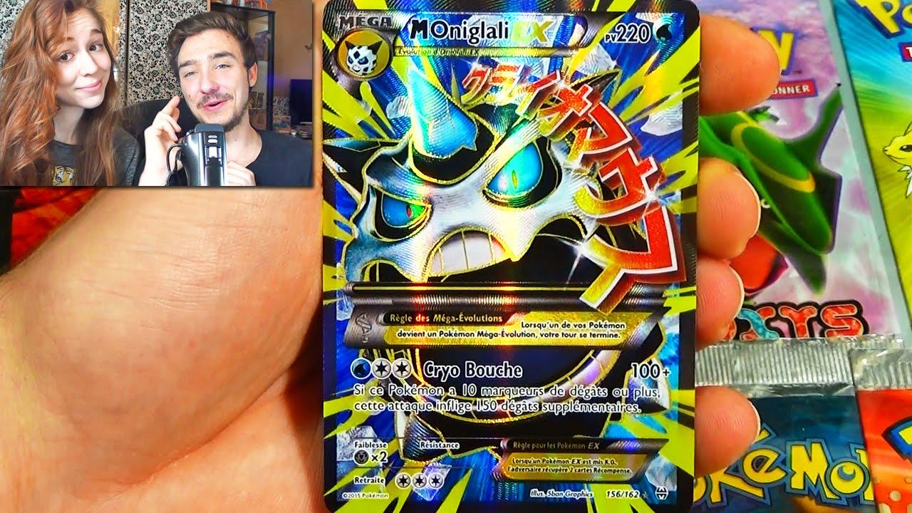 Ouverture d 39 un display pok mon xy8 impulsion turbo 2 epic carte pokemon ex full art youtube - Carte pokemone ex ...