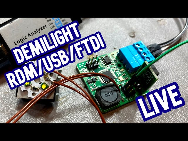 Tiny DMX Moving Lights: Get with the Program(ming) [Demilight LIVE]