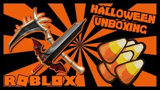 2500 CANDY UNBOXING IN ROBLOX ASSASSIN HALLOWEEN EVENTO