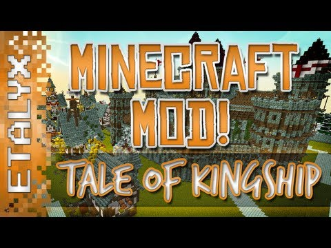 Tale of Kingdoms Ep. 1 - The Journey to Become King (Minecraft Mod LP)