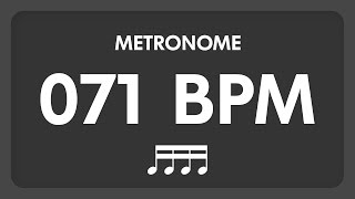 71 BPM - Metronome - 16th Notes