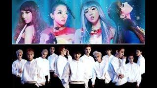 EXO & 2NE1 - Come Back Home/Ko Ko Bop/The Eve MASHUP