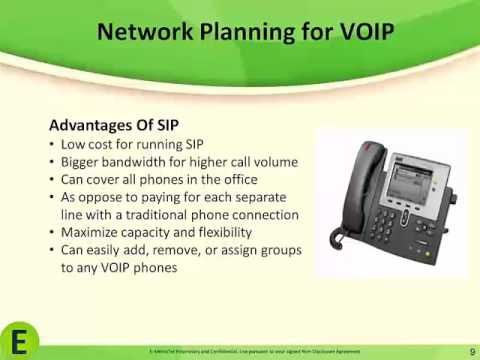 Network Planning For VOIP