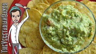 How to Make Fresh Guacamole  TheVegetarianBaker