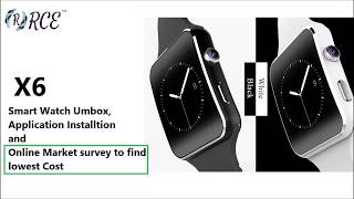 RCE - X6 Smart Watch Overview and Application Setup