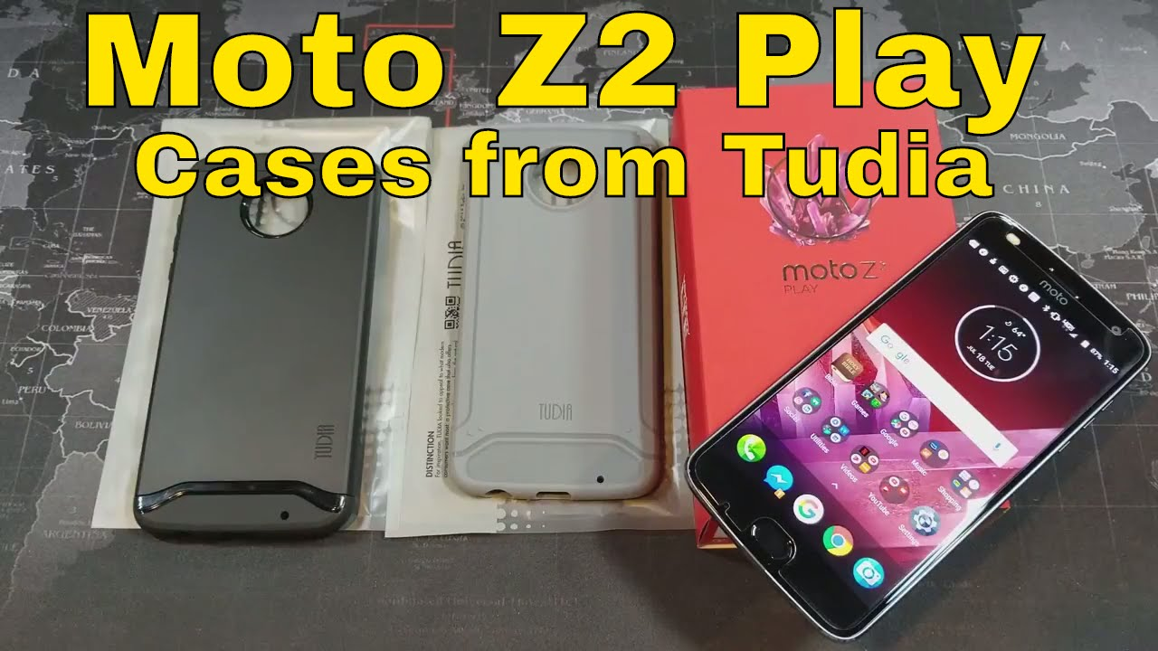 get cheap 7db20 58a50 Moto Z2 Play - Cases from Tudia - Reviewed - @TudiaProducts