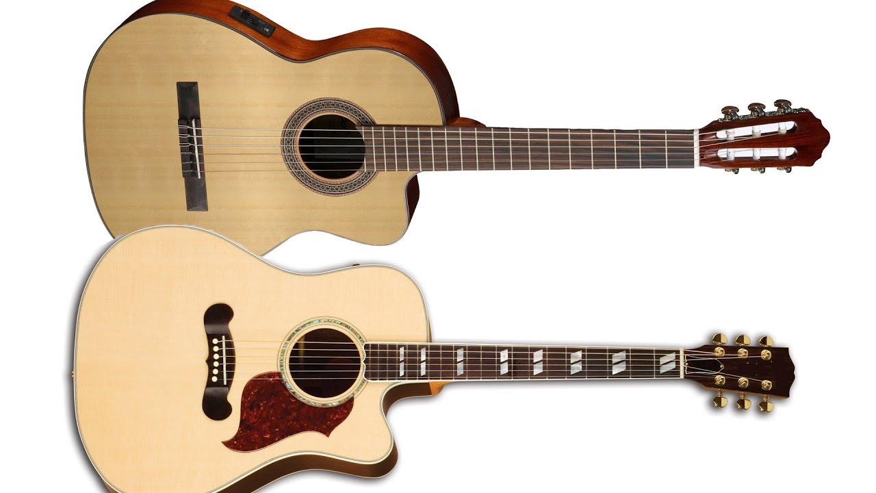 Как правильно выбрать гитару!!! На какой гитаре лучше начинать .