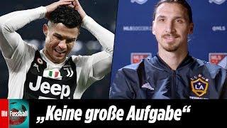 """Ibrahimovic """"zlataniert"""" Ronaldos Juve-Transfer"""