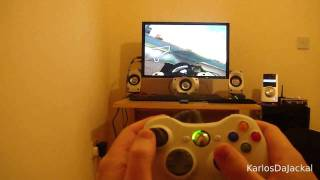 MotoGP 07 PC Gameplay vid with player point of view