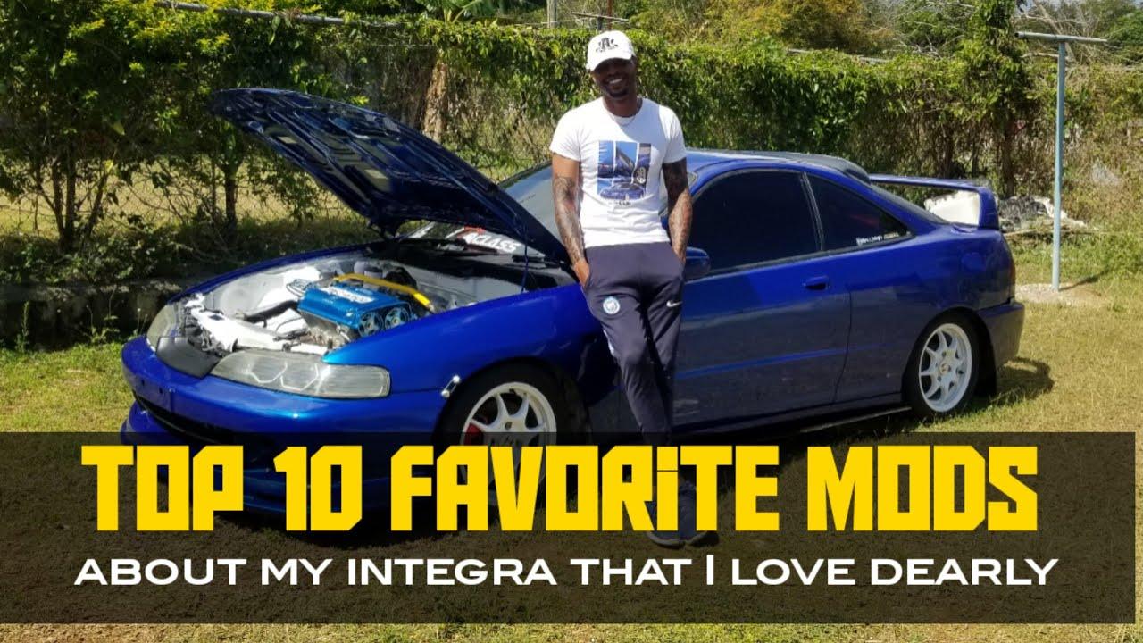 TOP 10 FAVORITE MODS ON MY CAR