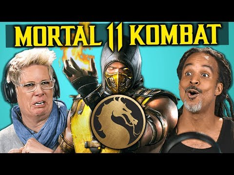 Parents React To Mortal Kombat 11 (Fatalities, Brutalities, Gameplay)