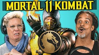 Parents React To Mortal Kombat 11 Fatalities Brutalities Gameplay