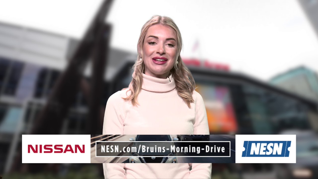 NISSAN Morning Drive: Charlie McAvoy returns as Bruins take on Leafs