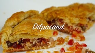 Dilpasand  Puff Pastry dessert  Indian puff pastry