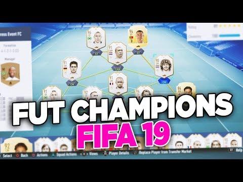 FIFA 19 - PREPARAZIONE AL FUT CHAMPIONS & EUROGOAL DI VIEIRA Con ROHN