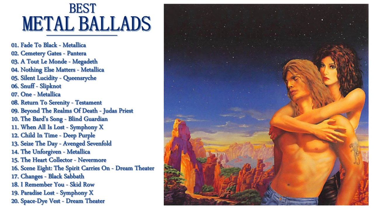 80s90s Metal Ballads Collection The Very Best Of