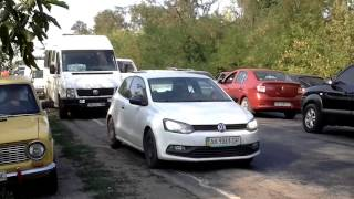 ДТП на запорожской трассе застало автомобилистов врасплох