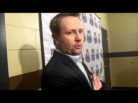 Jamestown head coach Greg Ulland meets the media (March 14)