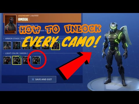 How To GET Every Color Camo For OMEGA AND CARBIDE! *NEW* V4.4 !HOW TO LEVEL UP SUPER FAST!