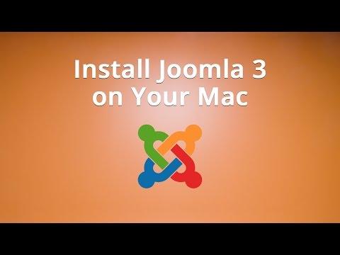 Install Joomla 3 on Your Mac