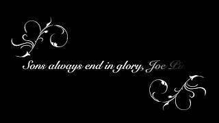 Sons always end in glory, By Joe Pinto