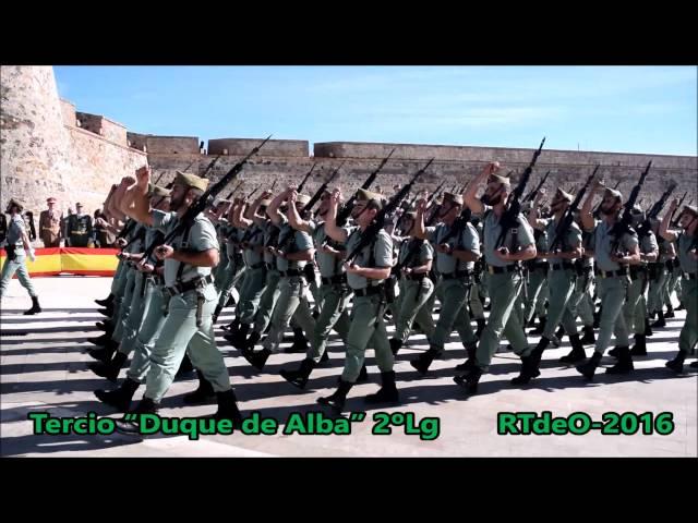 """Tercio """"Duque de Alba"""" 2º de La Legión"""