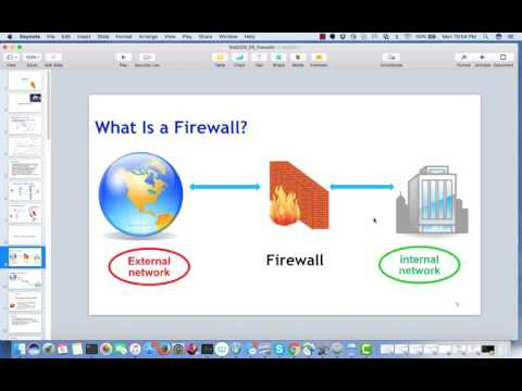 4 - Principles of Information Security and Privacy 6200 - Firewalls