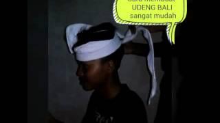 Cara membuat Udeng Bali