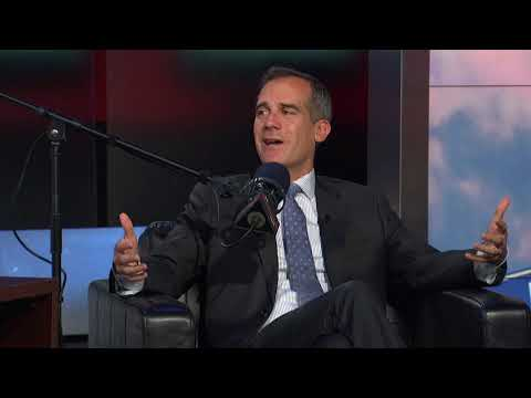 L.A. Mayor Eric Garcetti Joins The Dan Patrick Show In-Studio | Full Interview | 10/6/17