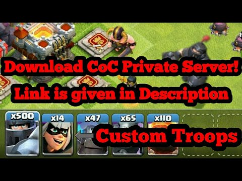 How To Download Clash Of Clans Private-Link In Description-2018 Latest August Update
