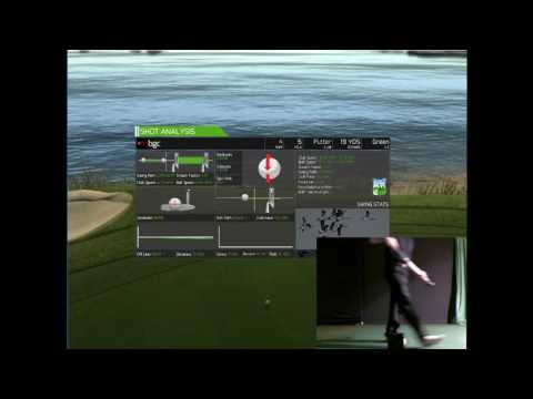 Pebble Beach played on SkyTrak Launch Monitor - home of AT&T Pro Am