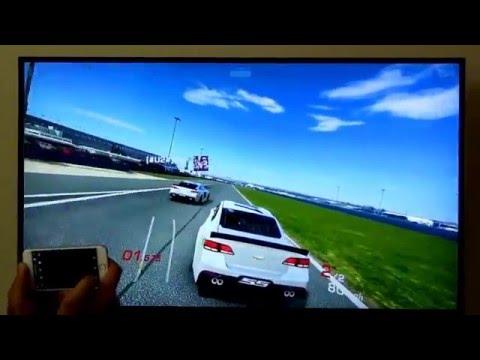 Play Real Racing 3 Like Never Before On Big Screen TV Using NextD!