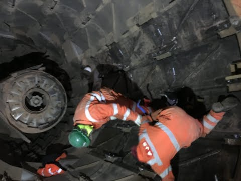 Aggregate Dryer Drum Retro Fit Refurbishment 2018 Lafarge Tarmac Mountsorrel Quarry