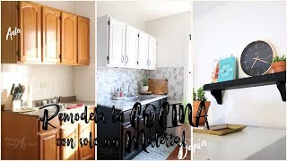 Cómo renovar y decorar tu cocina sin ningún tipo de obra