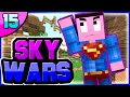 THE ULTIMATE FLY HACKER (Minecraft Skywars #15)
