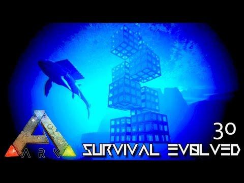 ARK: SURVIVAL EVOLVED - NEW UNDERWATER VACUUM TEK BASE !!! E30 (MODDED ARK PUGNACIA DINOS)