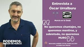 📻 Óscar Urralburu en Murcia en la Onda #SoterramientoYa