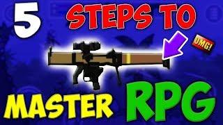 Mini Militia 5 STEPS TO MASTER RPG aka SMAW and Become a LEGEND !!| Doodle Army 2: Mini Militia #114